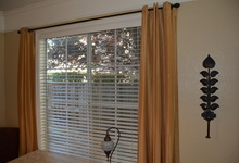 1845 Alburn Place , El Dorado Hills, California, 95762 Listing: Dining Room Window Coverings Photo by Homeowner