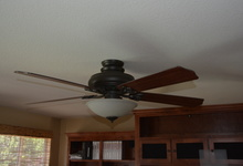 1845 Alburn Place , El Dorado Hills, California, 95762 Listing: Great Room Ceiling Fan Photo by Homeowner
