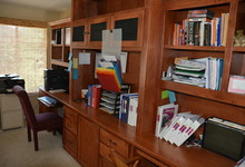 1845 Alburn Place , El Dorado Hills, California, 95762 Listing: Great Room Built-in Cabinets Photo by Homeowner