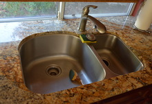 1845 Alburn Place , El Dorado Hills, California, 95762 Listing: Kitchen Sink Photo by Homeowner