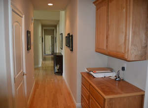 6122 Grant Avenue , Laporte, VA, 20122 Listing: Hallway Photo by Real Estate Agent