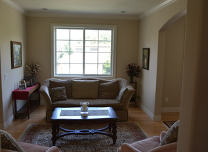 6122 Grant Avenue , Laporte, VA, 20122 Listing: Living Room Photo by Real Estate Agent