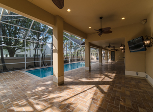 9439 NW 54th Doral Circle Ln , Doral, FL, 33178 Listing: Back Yard/Pool Photo by Real Estate Agent