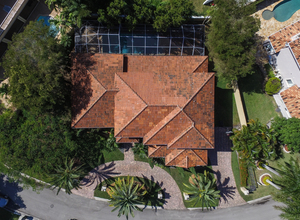 9439 NW 54th Doral Circle Ln , Doral, FL, 33178 Listing: Roof Photo by Real Estate Agent