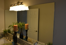 987 Main Street , Roseville, CA, 95874 Listing: Bathroom 2 Mirror Photo by Real Estate Agent