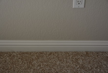 987 Main Street , Roseville, CA, 95874 Listing: Bedroom 2 Baseboard Photo by Real Estate Agent