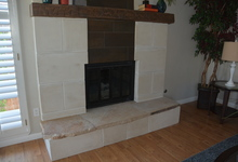 987 Main Street , Roseville, CA, 95874 Listing: Family Room Fireplace Photo by Real Estate Agent