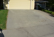 987 Main Street , Roseville, CA, 95874 Listing: Front Yard Driveway Photo by Real Estate Agent