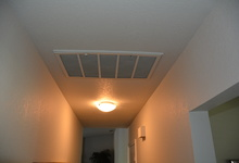 987 Main Street , Roseville, CA, 95874 Listing: Hallway Air Filter Photo by Real Estate Agent
