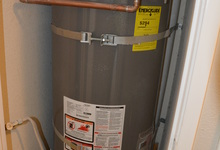 987 Main Street , Roseville, CA, 95874 Listing: Hallway Hot Water Heater Photo by Real Estate Agent
