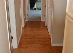 987 Main Street , Roseville, CA, 95874 Listing: Hallway Photo by Real Estate Agent