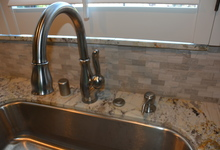 987 Main Street , Roseville, CA, 95874 Listing: Kitchen Sink Faucet Photo by Real Estate Agent