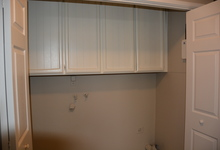987 Main Street , Roseville, CA, 95874 Listing: Laundry Room Upper Cabinets Photo by Real Estate Agent