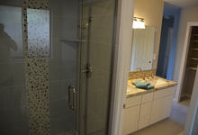 987 Main Street , Roseville, CA, 95874 Listing: Master Bathroom Shower Photo by Real Estate Agent