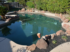 987 Main Street , Roseville, CA, 95874 Listing: Pool Photo by Real Estate Agent